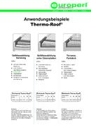 Thermo-Roof® Anwendungen