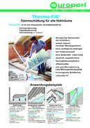 Thermo-Fill® Datenblatt