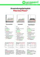 Thermo-Floor® / Floor® S Anwendungen