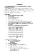 Filterperlit Datenblattübersicht