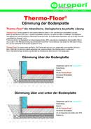 Thermo-Floor® Bodenplatte