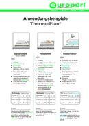 Thermo-Plan® Anwendungen