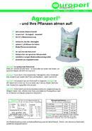 Agroperl® Verwendungsübersicht